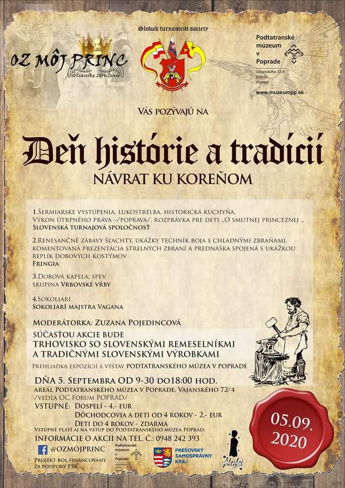 Deň Histórie A Tradícii, Návrat Ku Koreňom Poprad
