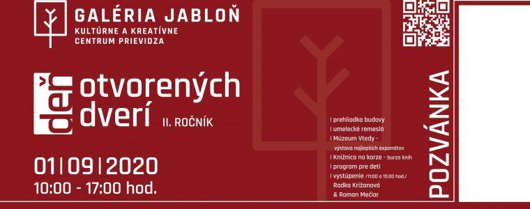 II. ročník Dňa otvorených dverí v Galérii Jabloň