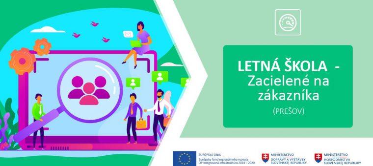 Letná škola - Zacielené na zákazníka (Prešov)