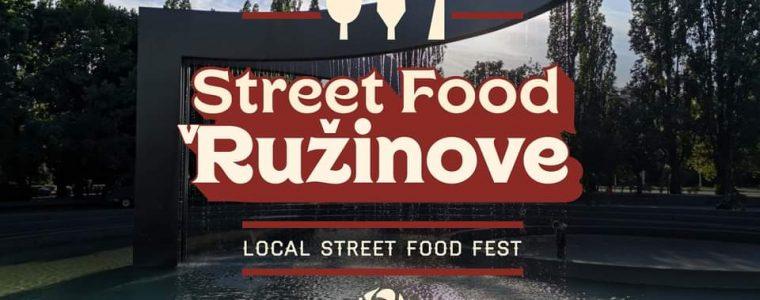 Street food v Ružinove Park Andreja Hlinku