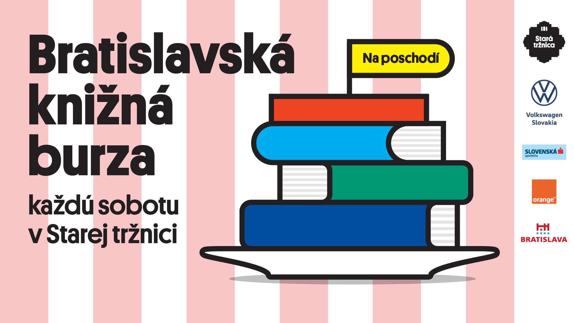 Bratislavská knižná burza 2020 Stará tržnica