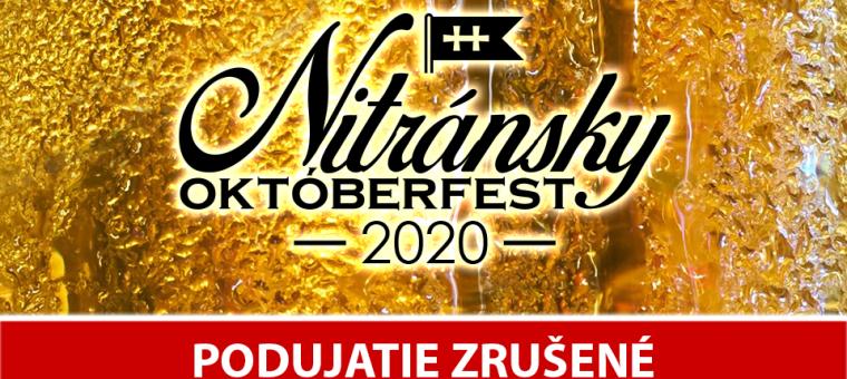 Nitránsky Októberfest 2020 - festival piva a street foodu