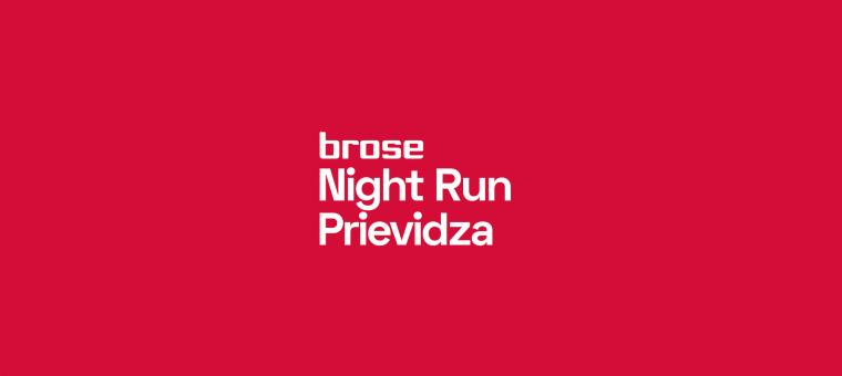 Brose Night Run Prievidza 2020