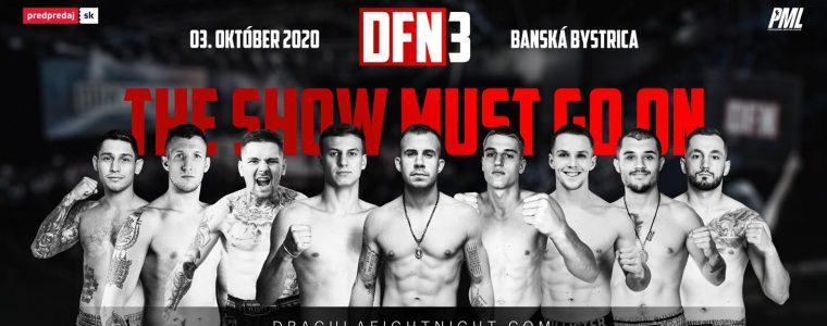 Dracula Fight Night 3 Športová hala Dukla