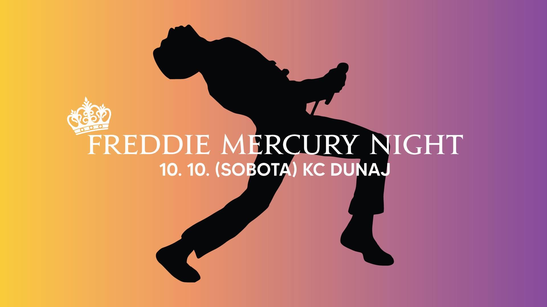 Freddie Mercury Night | KC Dunaj 10.10.2020