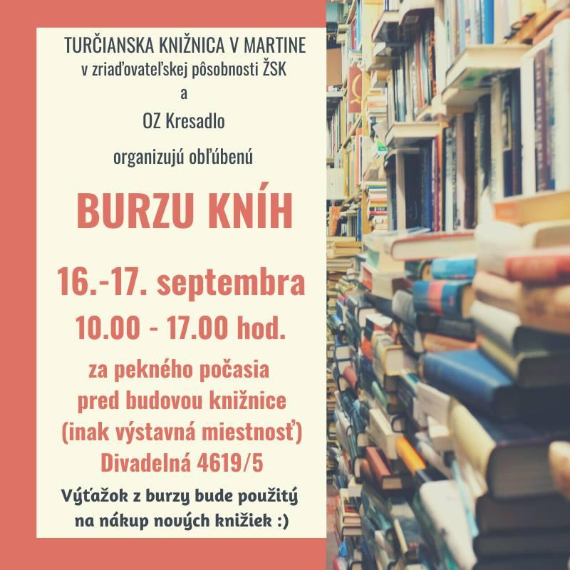 Burza kníh v Turčianskej knižnici