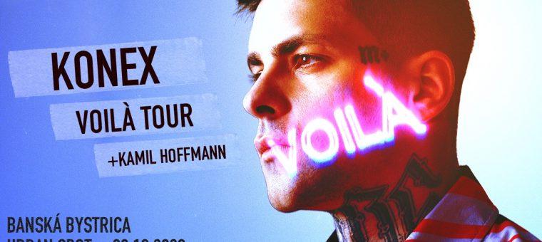 KONEX (Milion+) - VOILÀ TOUR - Banská Bystrica