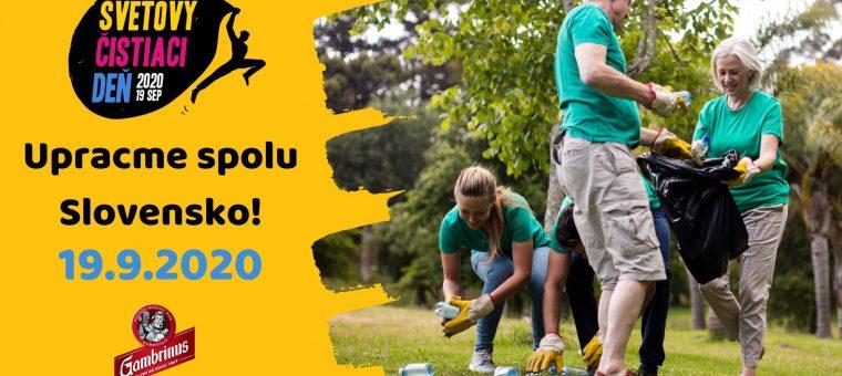 Upracme Slovensko - Svetový čistiaci deň 2020 Martin