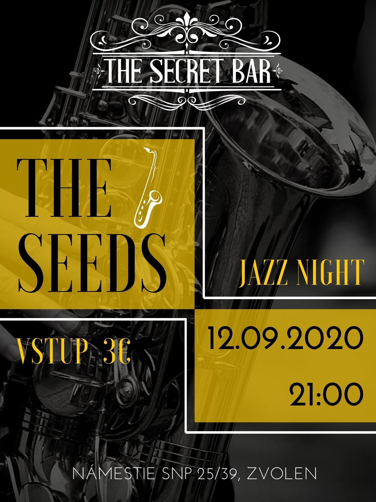 Koncert THE SEEDS The Secret Bar