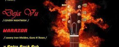 Deja Vu/ MORENA/ WARRIOR RETRO ROCK PUB