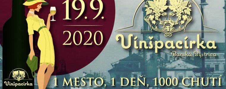 Vínšpacírka 2020 Námestie SNP Banská Bystrica