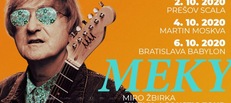 Miro Žbirka - Cinema Acoustic Tour Prešov