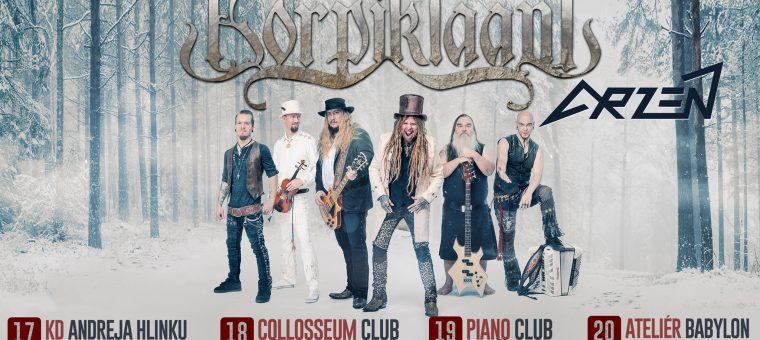 Korpiklaani & Arzén tour 2020   Košice, Collosseum Club