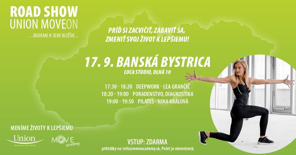 Union MoveON Road show - Banská Bystrica Loca_Studio