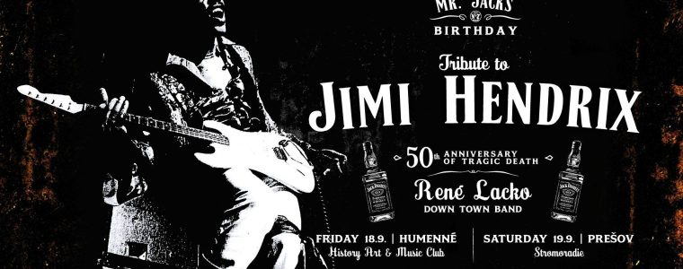 René Lacko Tribute to Jimi Hendrix Stromoradie