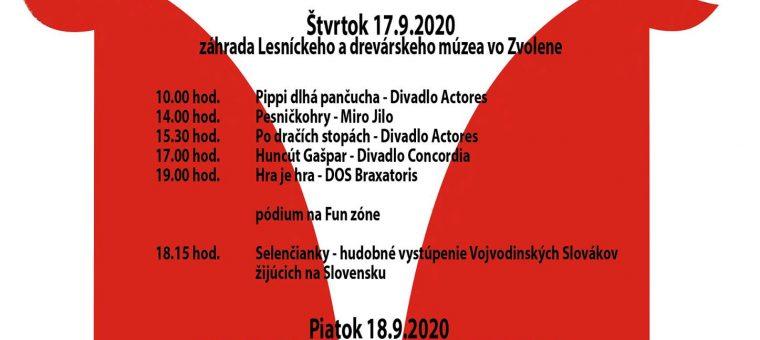 Divadelné podzámčie 2020 Mesto Zvolen