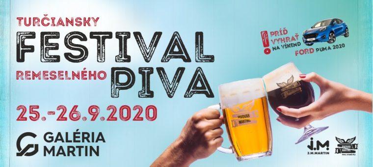 Turčiansky festival remeselného piva | 25.9.-26.9.2020