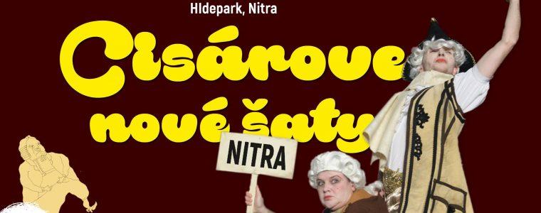 Cisárove nové šaty na Hideparku Hidepark Nitra
