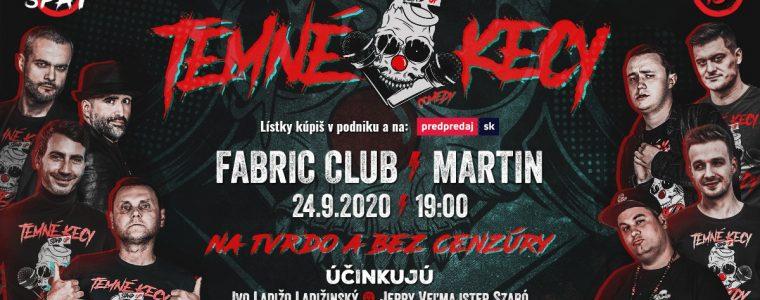 TEMNÉ KECY - Martin - Fabric club