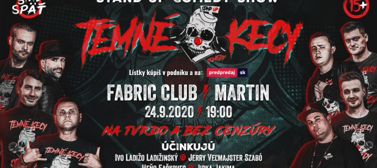 TEMNÉ KECY - Martin - Fabric club