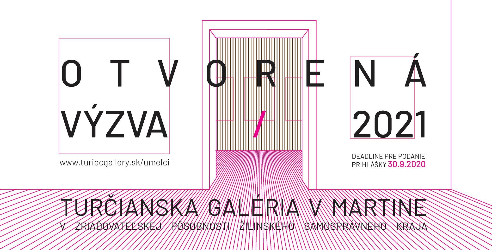 Otvorená výzva 2021 Turčianska galéria v Martine
