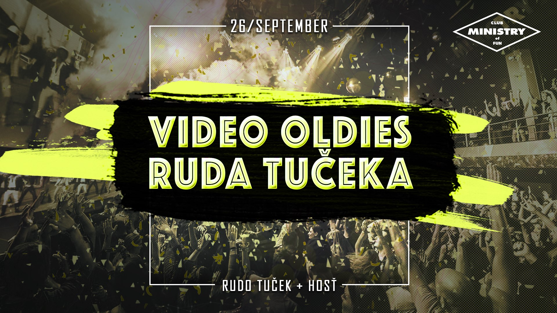 Video Oldies Ruda Tučeka | 26.9.2020 Ministry of Fun