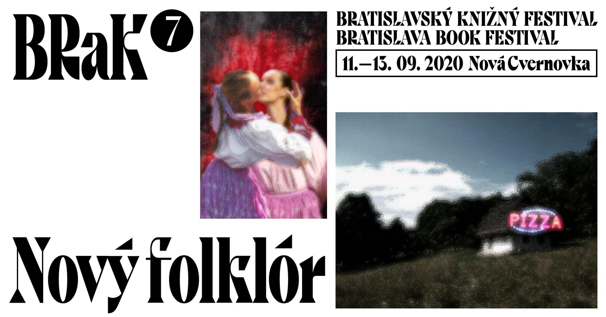 BRaK - Bratislavský knižný festival 2020 Nová Cvernovka