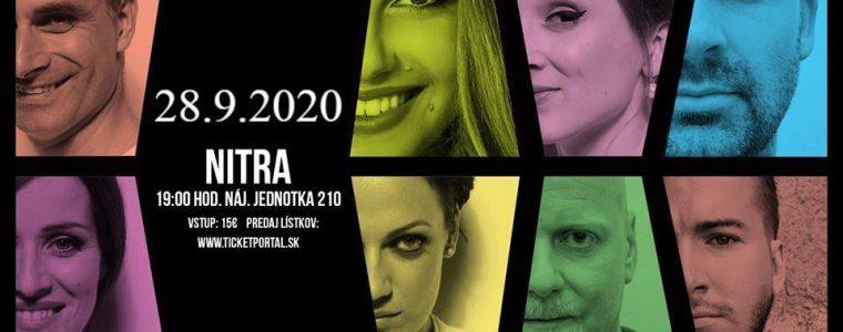 Fragile SK koncert - Nitra - Nájomná jednotka 210