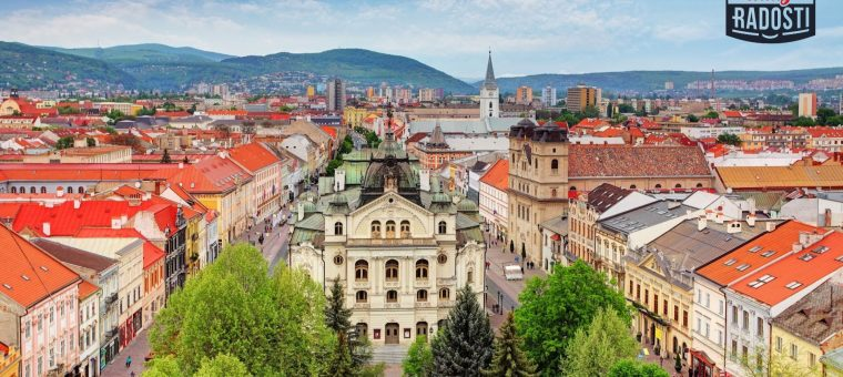 Rally Radosti 2020 v Košiciach Košice Hlavná Ulica