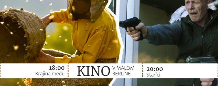 Kino: Krajina medu + Staříci Malý Berlín