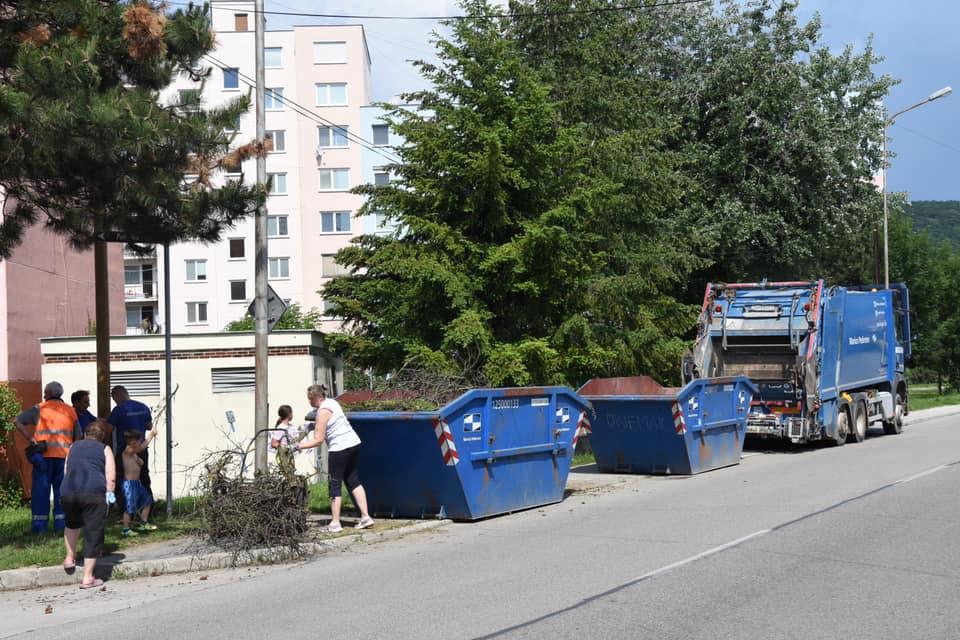 Jesenné upratovanie 10.10.2020 Trenčín