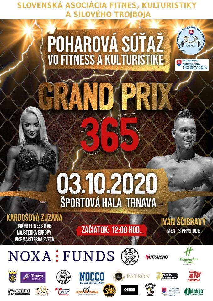 Grand Prix 365 - Pohárová súťaž vo fitnes a kulturistike