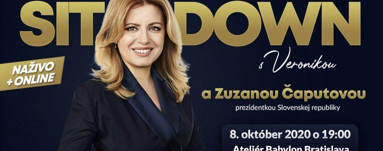 Sit Down s Veronikou v Bratislave Ateliér Babylon