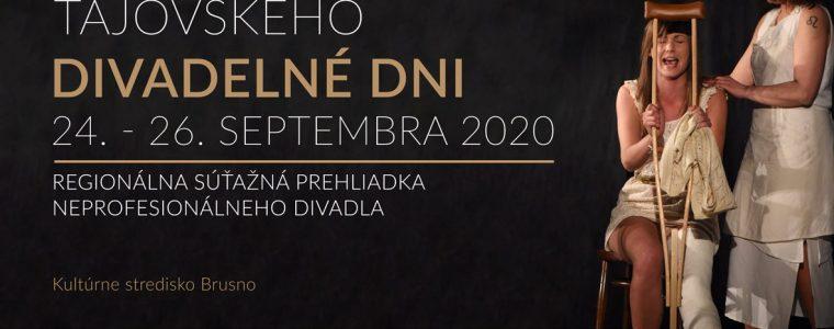 Tajovského divadelné dni 2020