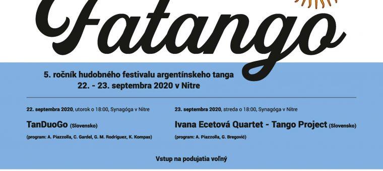 FATANGO - 5.ročník festivalu argentínskeho tanga
