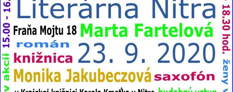 LITERÁRNA NITRA 2020 Online podujatie