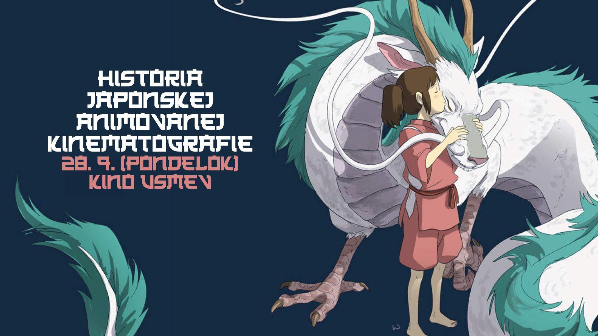 História japonskej animovanej kinematografie | Kino Úsmev