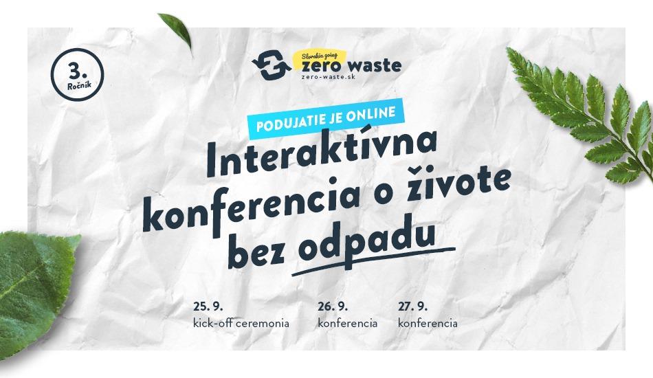 Slovakia Going Zero Waste 2020 Online podujatie