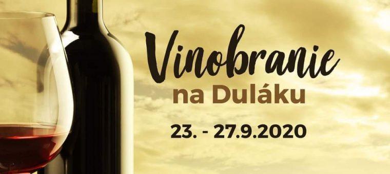 Vinobranie na Duláku Dulovo Námestie