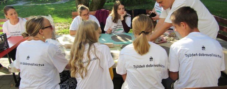Týždeň dobrovoľníctva 2020 Bratislava