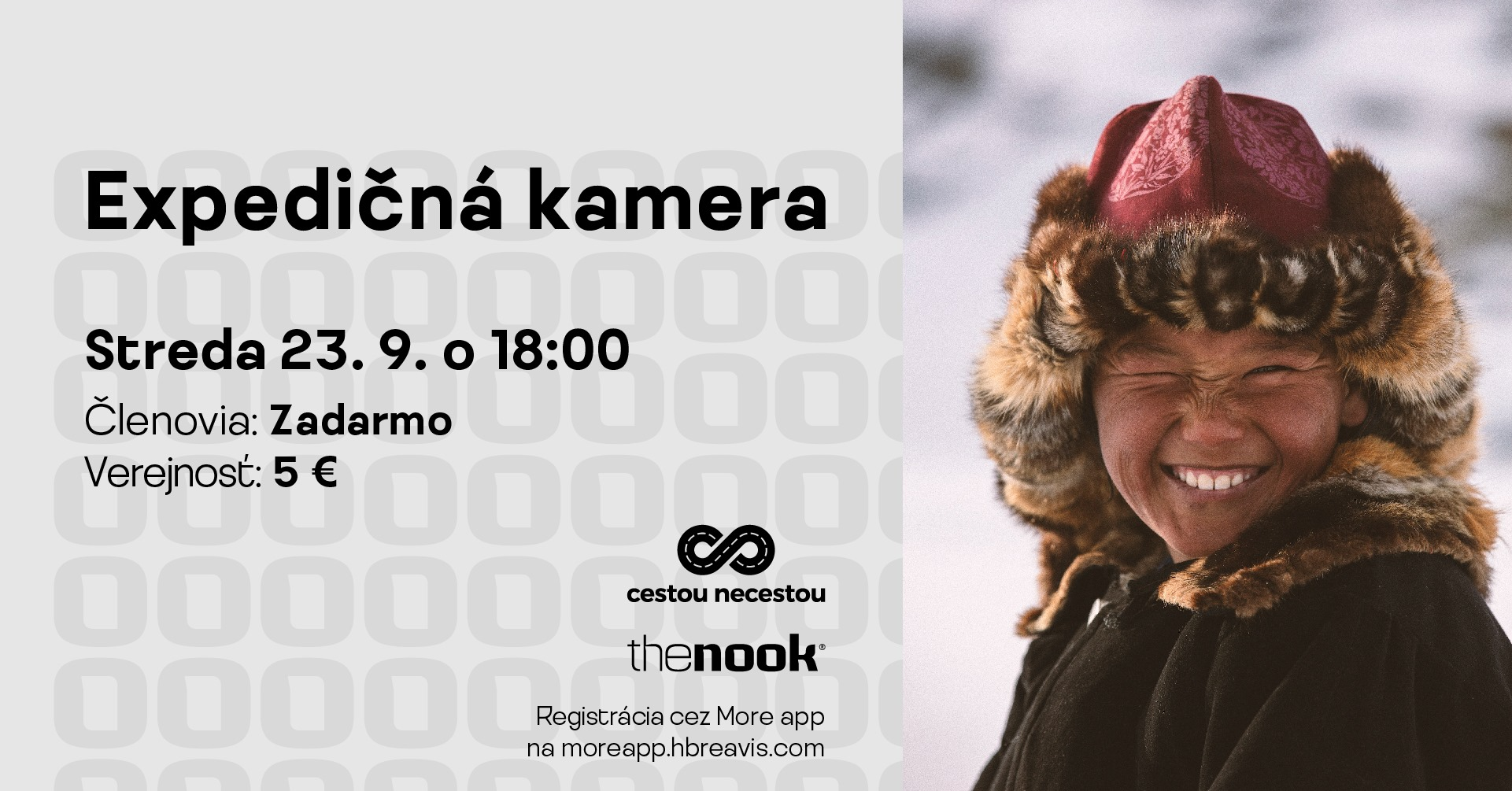 Expedičná kamera The Nook