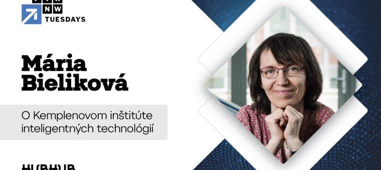 FTRNW Tuesdays VOL.55 - Mária Bieliková (KInIT)