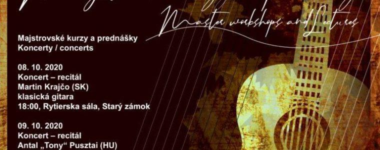 International Days of Classical Guitar Performance Banská Štiavnica