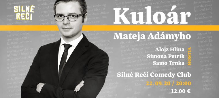 Kuloár Mateja Adámyho Divadlo Malá scéna STU