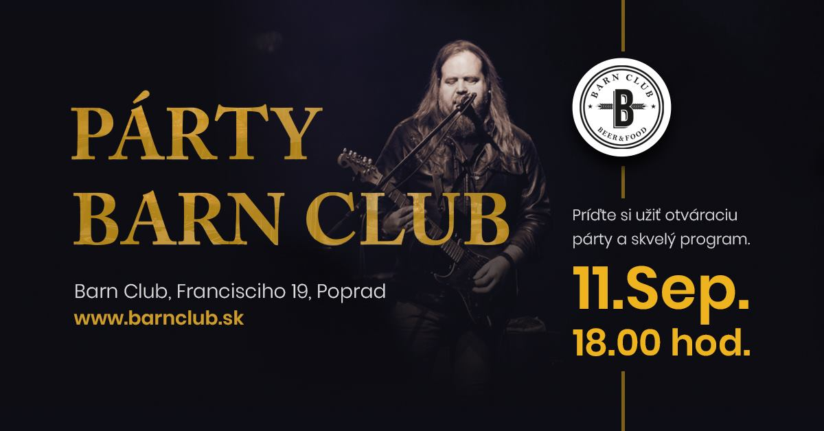 OPENING PARTY v Barn Clube