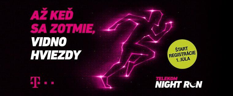 12. Telekom Night Run 2020 Eurovea