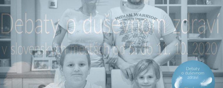 Nezlomní – 18 otvorených rozhovorov o autizme Artforum v Žiline