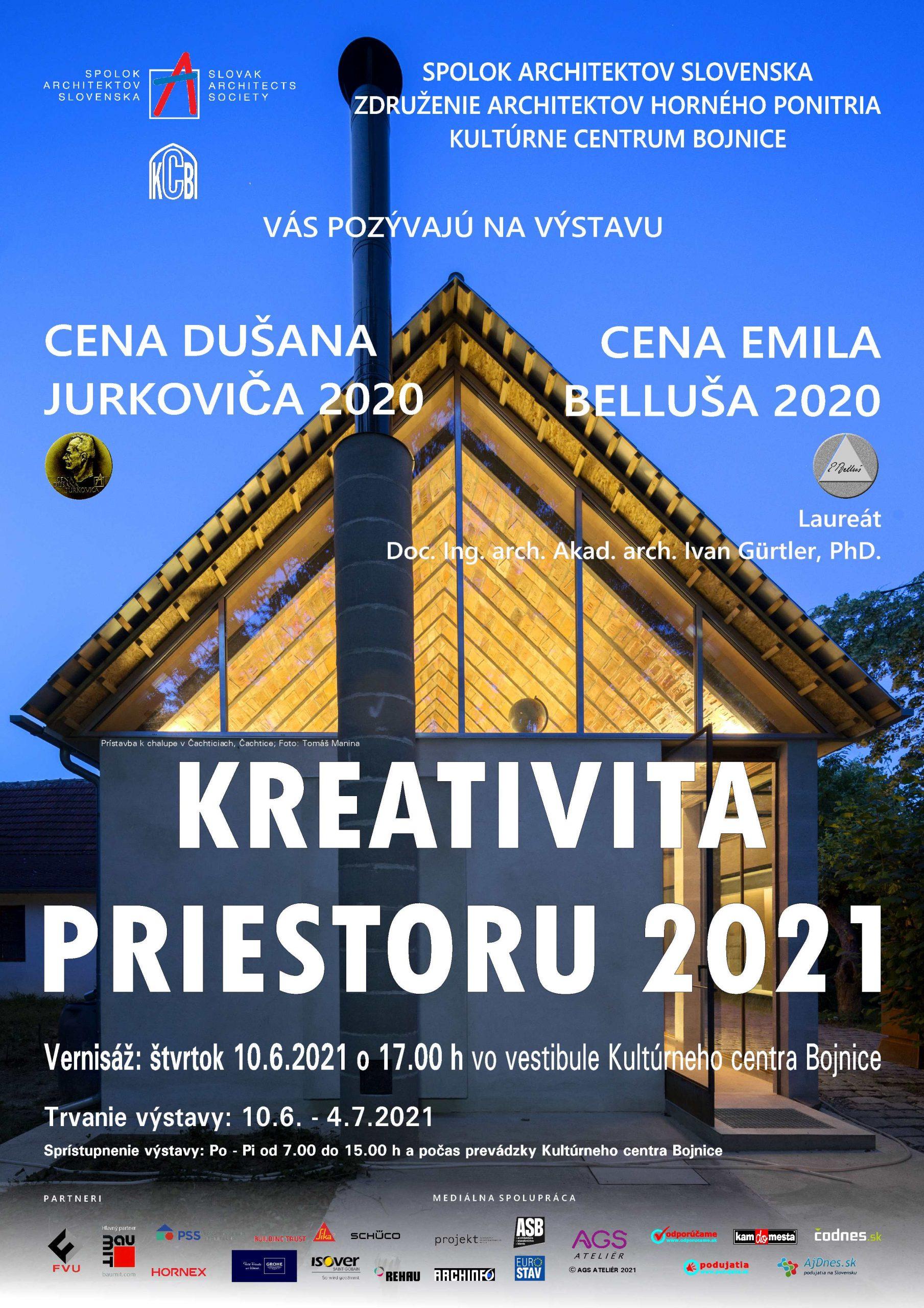Kreativita priestoru 2021, Bojnice