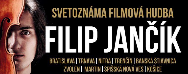 Filip Jančík | KONCERT FILMOVEJ HUDBY | Košice Kulturpark