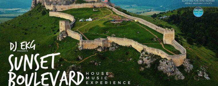 DJ EKG presents Sunset Boulevard / Spišský hrad / 21.8 2021